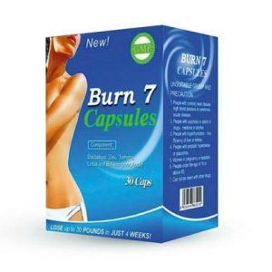 Burn 7 Slimming Capsule in Pakistan Fast Weight Loss Formula